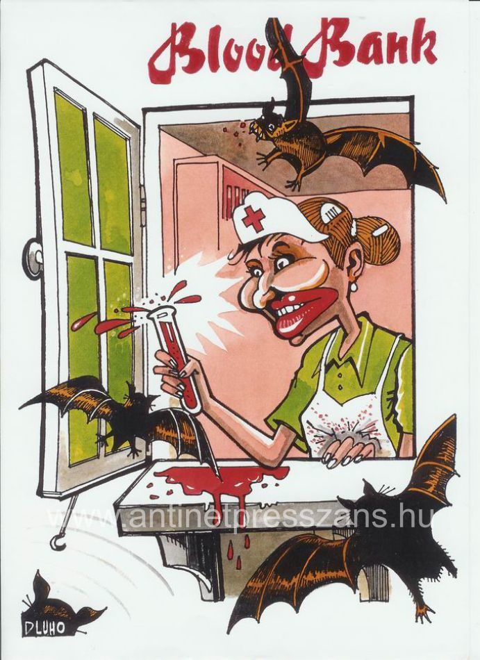 Jópofa karikatúra