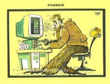 Netes karikatúra Dluhopolszky László