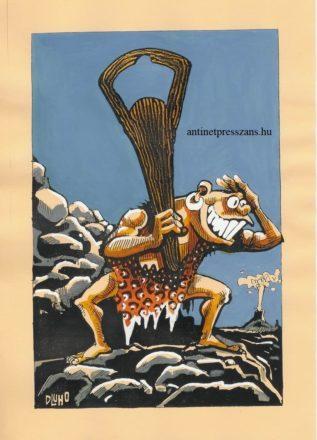 Napi karikatúra Dluhopolszky László