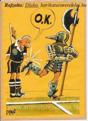 Foci karikatúra, Dluhopolszky László