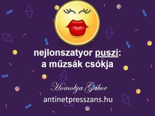 Vicces mondás Homolya Gábor