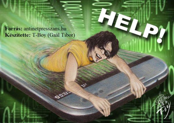 Mobil karikatúra T-Boy (Gaál Tibor)