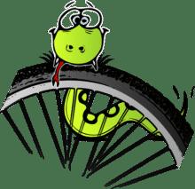 Fehér József Humoros biciklizés
