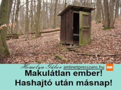 Vicces poénos szójáték Homolya Gábor