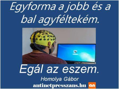 Agyas poén Homolya Gábor