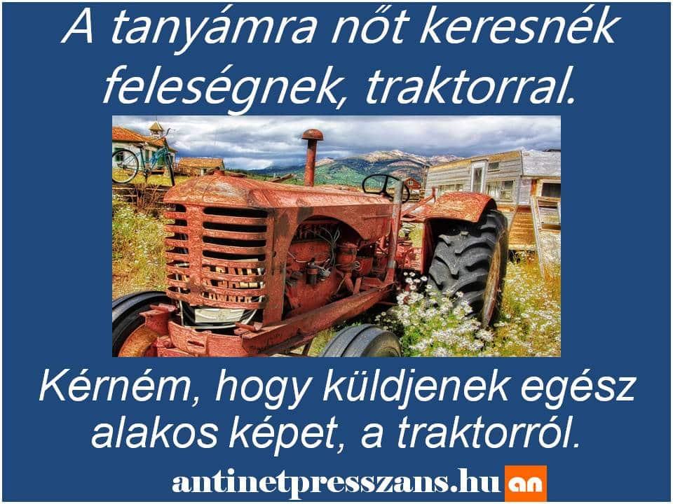 Traktor humor