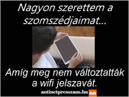 Wifi poén