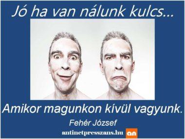 Vicces humoros őrültség Fehér József