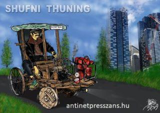 Humoros sufni tunning Rajzolta: T-Boy (Gaál Tibor)