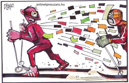 Humoros téli olimpia Rajzolta: Dluho