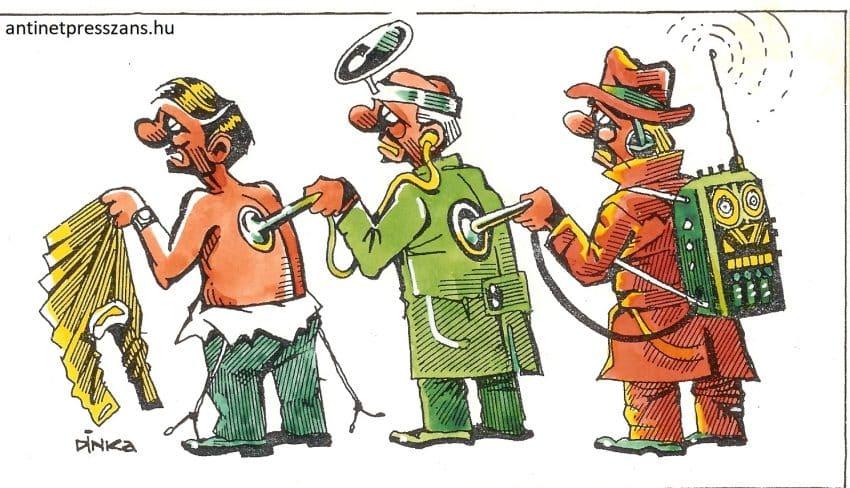 Koronavírus karikatúra