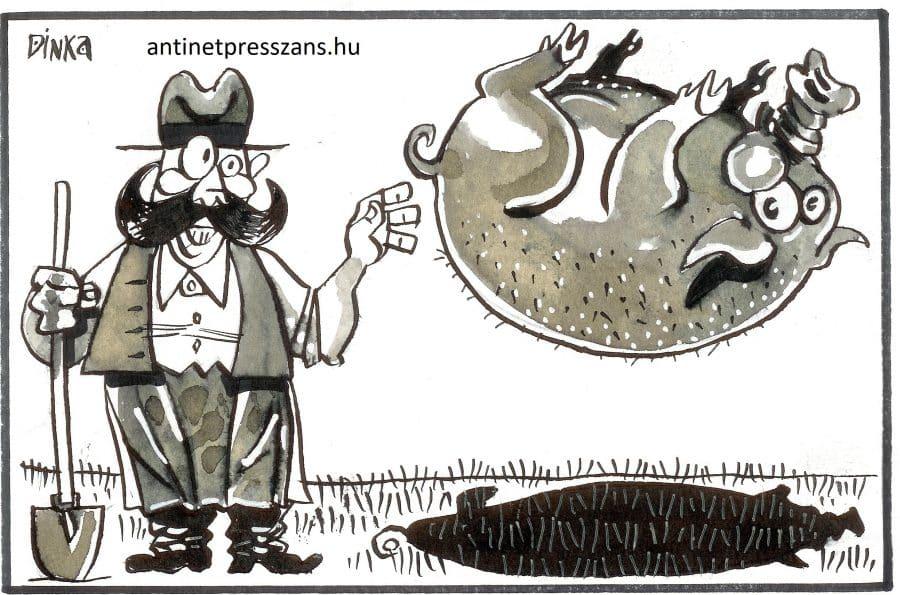 Diétás karikatúra