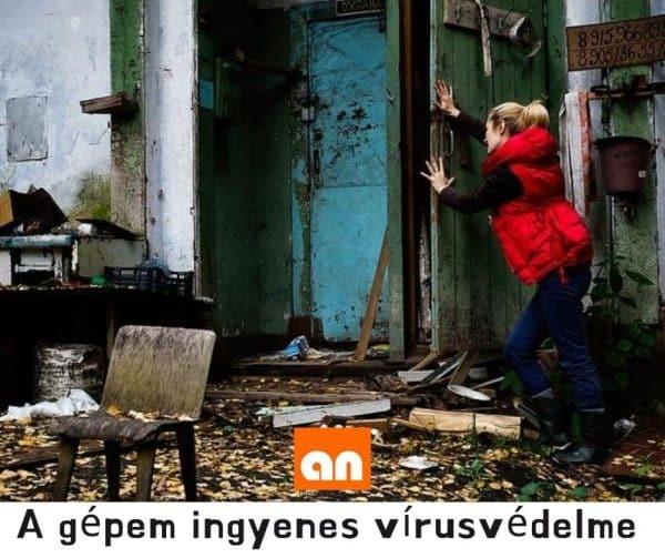 Vicces humoros vírusvédelem