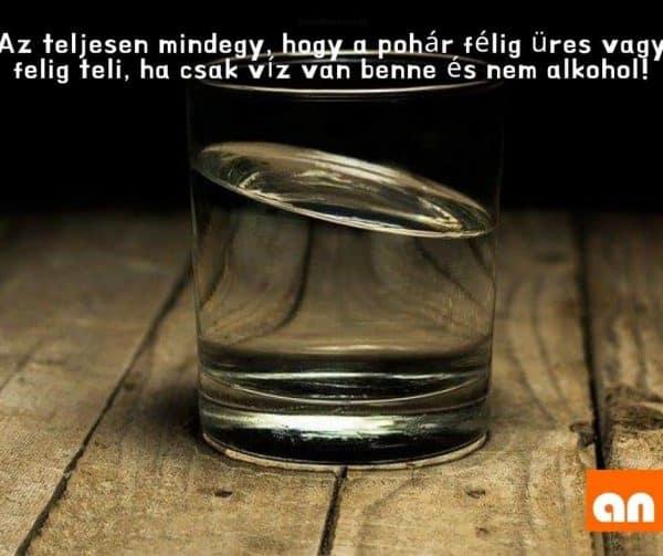 Vicces optimista alkoholizmus